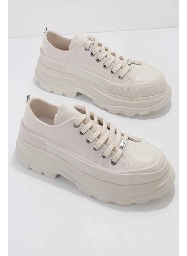 Bambi Kadın Sneaker K01530112018 Beyaz